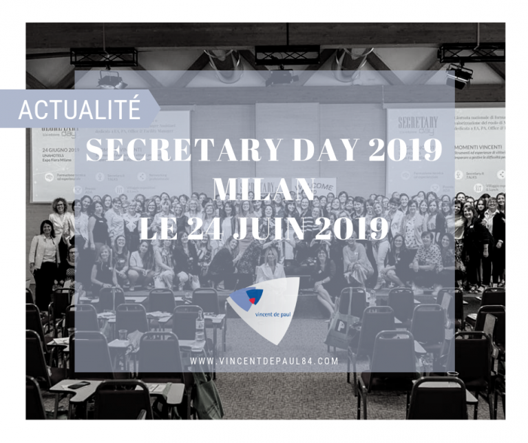 SECRETARY DAY à Milan